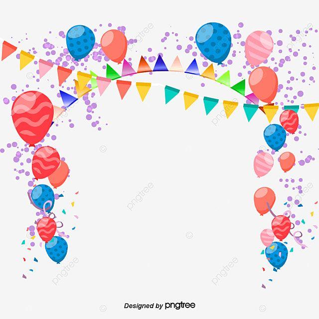 بالون بالون قصاصة فنية ملونة Png وملف Psd للتحميل مجانا In 2020 Balloon Clipart Celebration Balloons Balloons