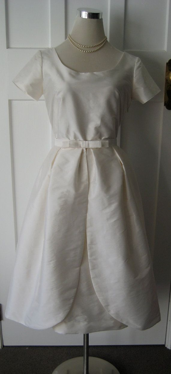 I Do..... Vintage Inspired 1950s Wedding Gown by TheFrockCloset