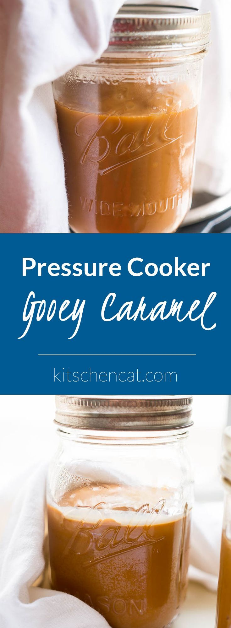 Pressure Cooker Gooey Caramel – step by step instructions for making your first batch of pressure cooker caramel!