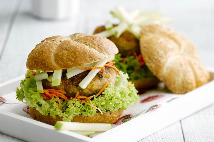 25 beste idee n over kippengehakt hamburgers op pinterest kip hamburger recepten kip ranch - Doe de toegangsgalerij opnieuw ...