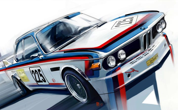 BMW artwork by Radu Muntean