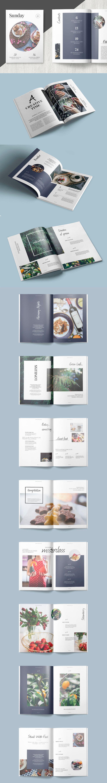 Multipurpose Portfolio Brochure Tempalte InDesign INDD - 26 Pages, A4 International And Us Letter Size