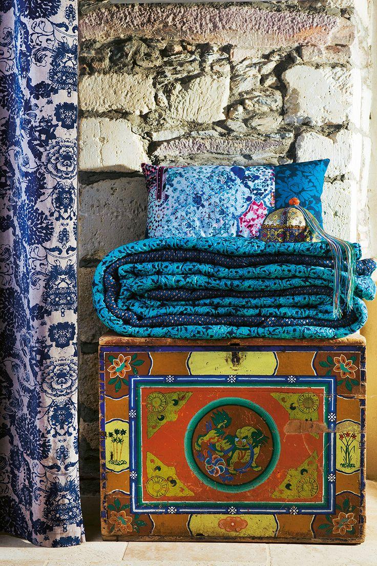 50 best d coration i printemps et 2016 images on pinterest spring summer 2016 cushions and. Black Bedroom Furniture Sets. Home Design Ideas