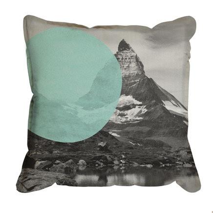 Pony Rider - Swiss Alps Cushion Cover