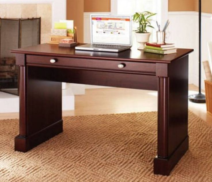 Small Writing Desks for Small Spaces Computer Desk for Home Office Laptop Table  #BHG #Contemporary