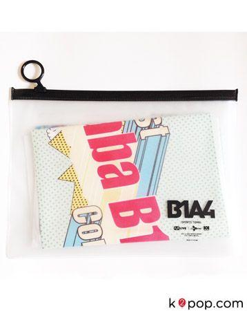 1ST BABA B1A4 CONCERT OFFICIAL GOODS : SLOGAN