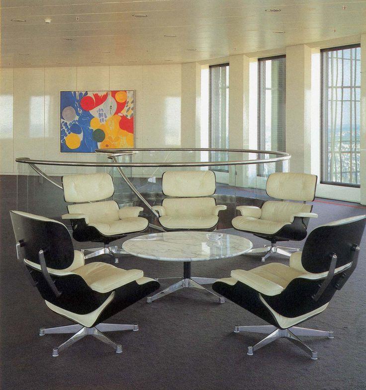 EA 217 Soft Pad Eames Chair Chaise de bureau Eames