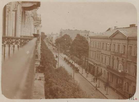 Krakowskie Przedmieście 59, 1915r
