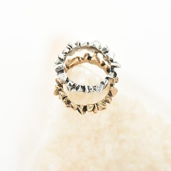 Sand Cast Midi Ring | Bohemian | Gypsy | Indie | Hippie Style