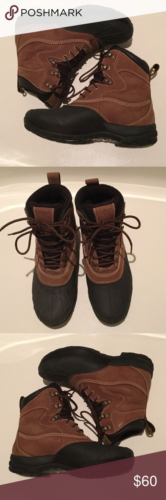 LL Bean winter boots size 9. Waterproof. Insulated LL Bean winter boots. Waterproof and insulated. Men's size 9. Pimaloft 200 gram insulation L.L. Bean Shoes Rain & Snow Boots