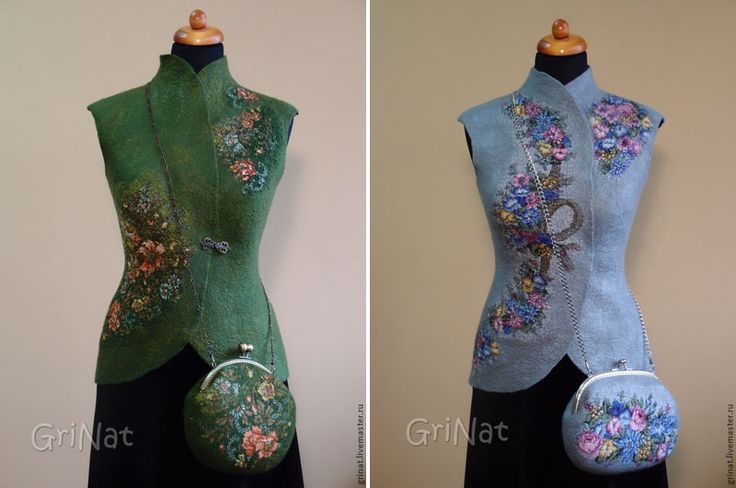 Весна на Sees All Colors: Шерстяные жилеты Grinat