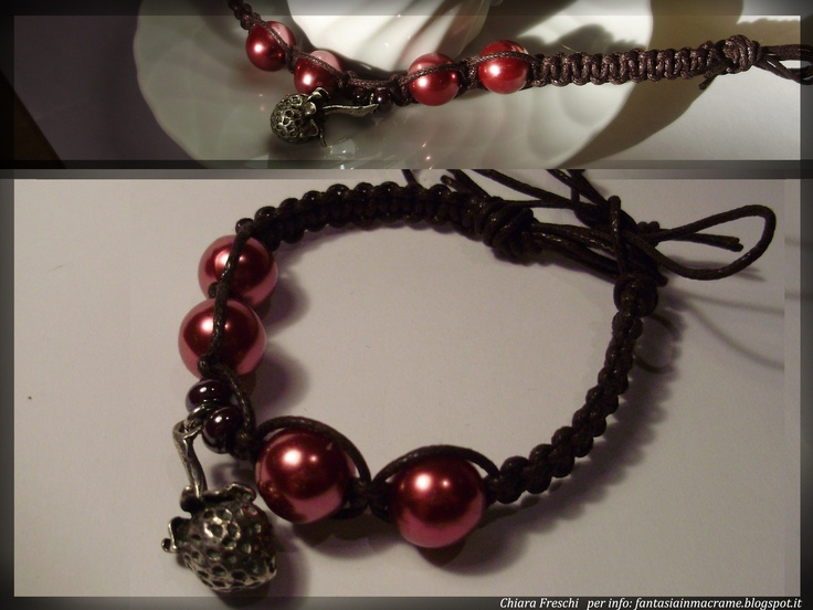 My bracelets   Per info: fantasiainmacrame.blogspot.it