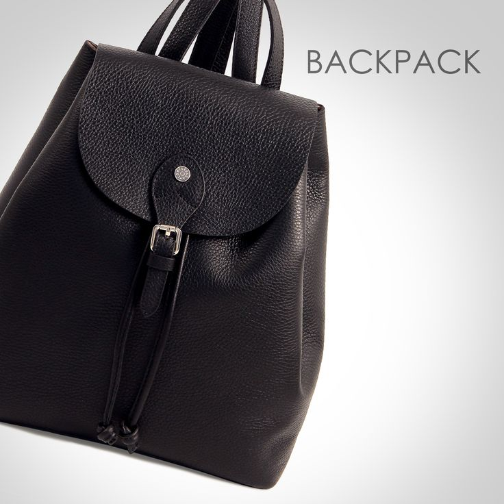 BACKPACK COLLECTION #loristella #backpack #leather #bag #leathergoods #handmade #black #style #city #look #sporty #chic #madeinitaly