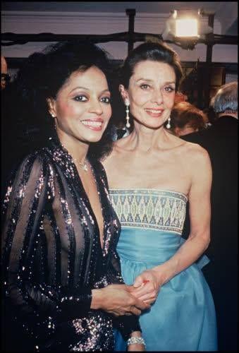 Diana Ross & Audrey Hepburn