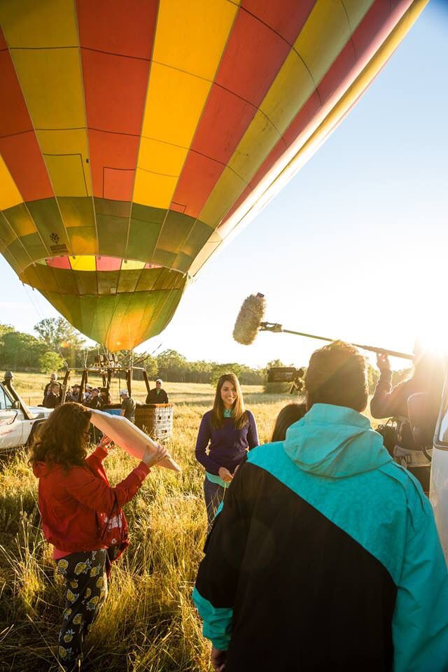 Presenting for Malaysia Airlines In Flight travel guide to NSW, Australia
