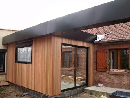25 beste idee n over bardage bois composite op pinterest bardage composite dolores en. Black Bedroom Furniture Sets. Home Design Ideas