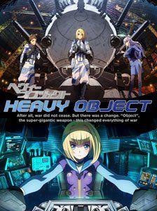 First Japanese 'Heavy Object' Anime DVD/BD Cover Art Arrives   The Fandom Post