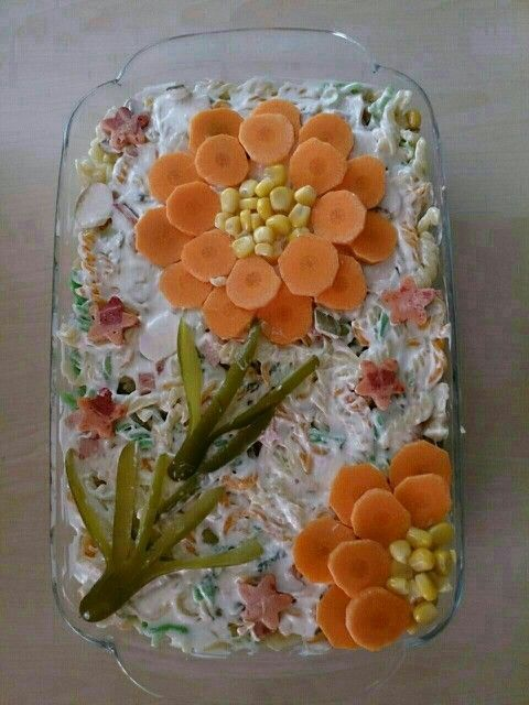 Die 12 besten Ideen, um Salatplatten für Gäste auf die Festtafel zu arrangieren