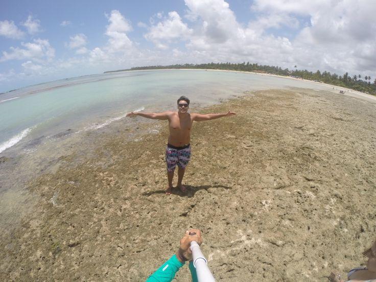 Praia do Riacho, em São Miguel dos Milagres, Alagoas