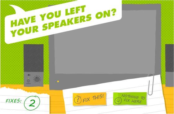 Sponge UK Information Security Game made in Storyline 2