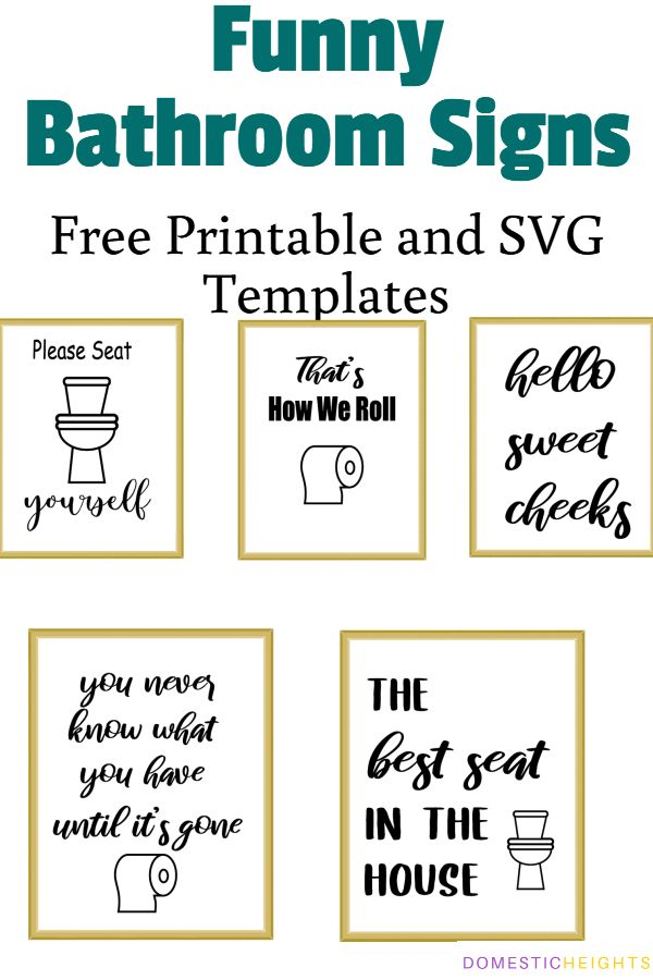 Free Svg Bathroom Signs Free Svg Bathroom Quotes Free Bathroom Sign Svg Bathroom Quotes Bathroom Humor Funny Bathroom Signs