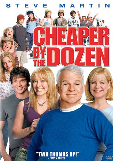 Cheaper by the Dozen - With his wife doing a book tour, a father of twelve must handle a new job and his unstable brood.