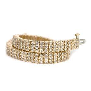 Ein Diamantarmband mit 9.00 Karat Diamanten aus 585er Gelbgold gefertigt. Dieses Diamantarmband ist erhältlich bei www.juwelierhausabt.de in Dortmund.