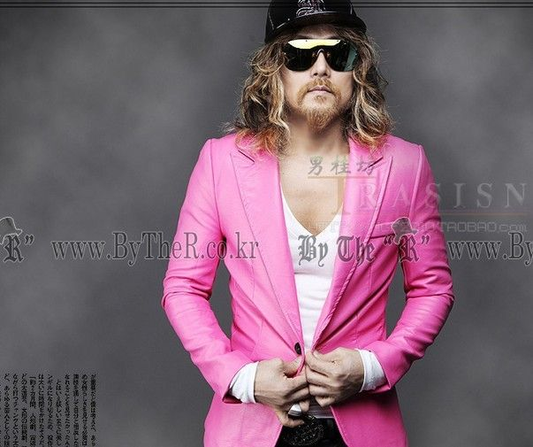 new-2014-men-clothing-pink-Harajuku-jacket-coat-suit-hot-selling