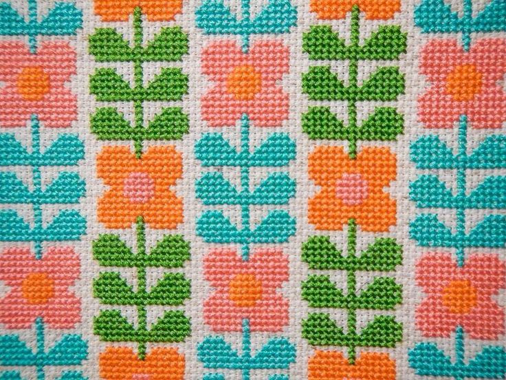 You can find my Wallflower Cross Stitch Pattern here:-  http://kitschydigitals.com/Wallflower-Cross-Stitch-Pattern.html