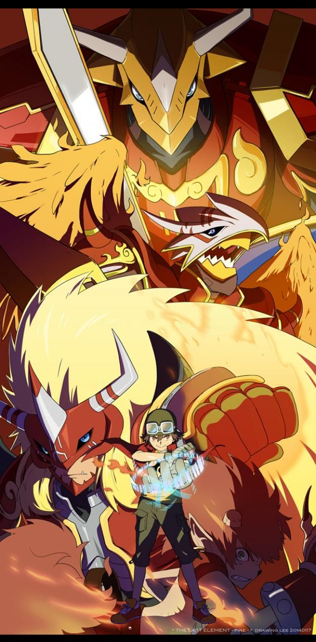 digimon frontier agunimon - Google Search