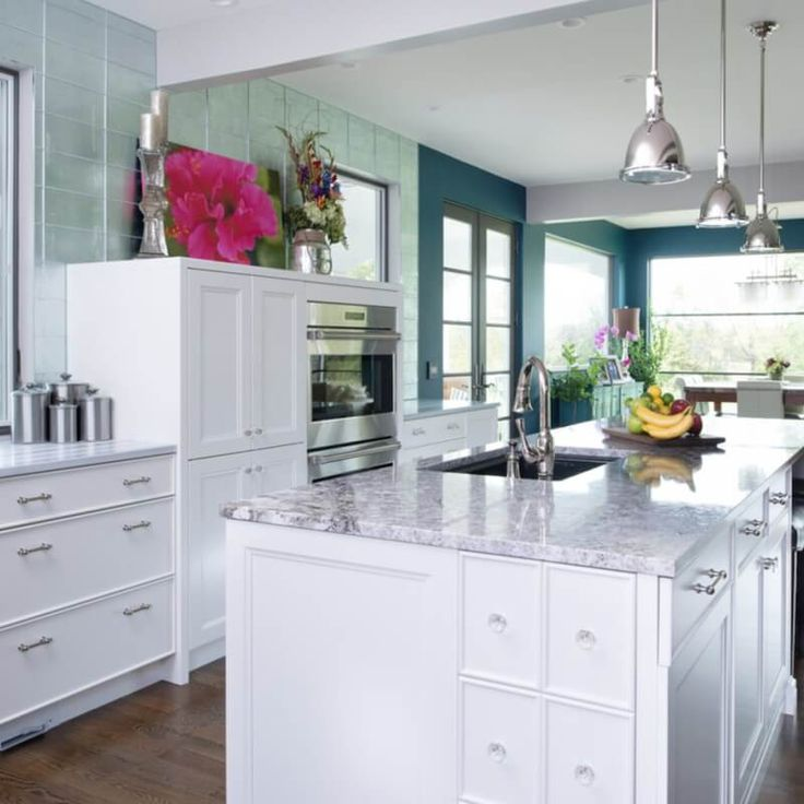 White Kitchens For Every Style And Budget: Best 20+ Granite Kitchen Ideas On Pinterest