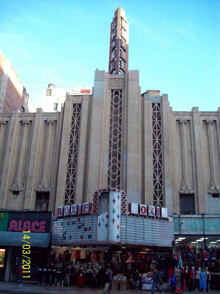 The old Roxie, Los Angeles