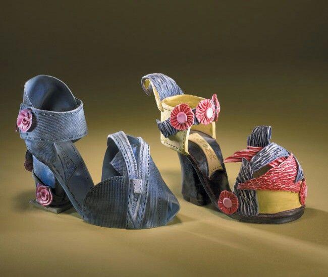 Diva shoe ceramic