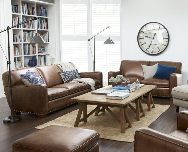 18 Best Leather Sofas Images On Pinterest Leather