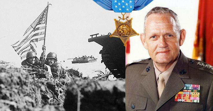 American World War 2 Medal Of Honor Recipient Became Commandant Of The Marine Corps