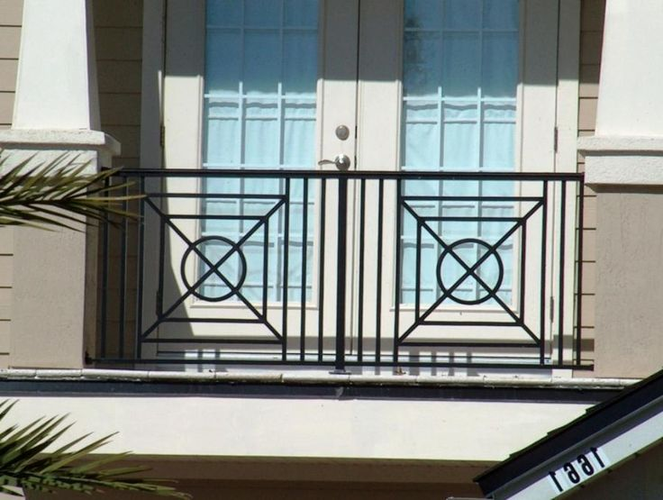 58 best iron rails images on pinterest for Terrace grills design