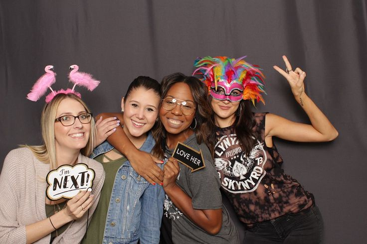 College Party in Jacksonville, FL! Smiles & Moore Photo booth, Props,  Backdrop, Fun Photo Booth Props, All included! | The Copper Lens Photography Co.