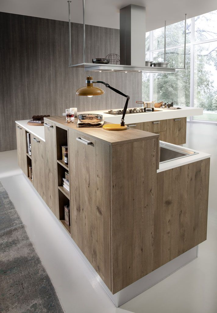 Beautiful Gorgeous Kitchen Blends Sleek Minimalism With Chic Eco Friendly Design