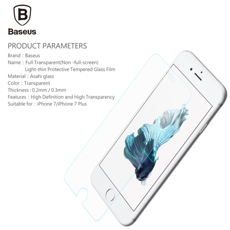Find More Screen Protectors Information about Baseus Protective Glass for iPhone 7 4.7 inch Premium Tempered Glass Screen Protector For iPhone 7 HD Toughened Protective Film,High Quality glass cutting diamond blade,China glass tool Suppliers, Cheap glass shot glass from Guangzhou Etoplink Co., Ltd on Aliexpress.com