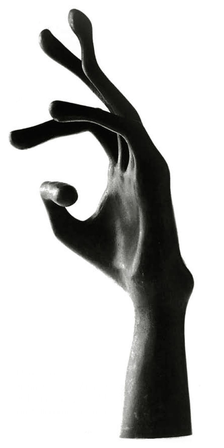 "onsomething:      onsomething        Mathias Goeritz | ""Tu mano"", 1952  dim 37-14 cm"