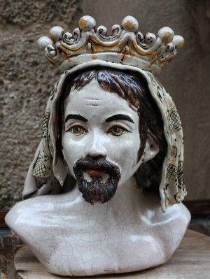 Teste Di Moro in Ceramica di Caltagirone | Ceramiche ...