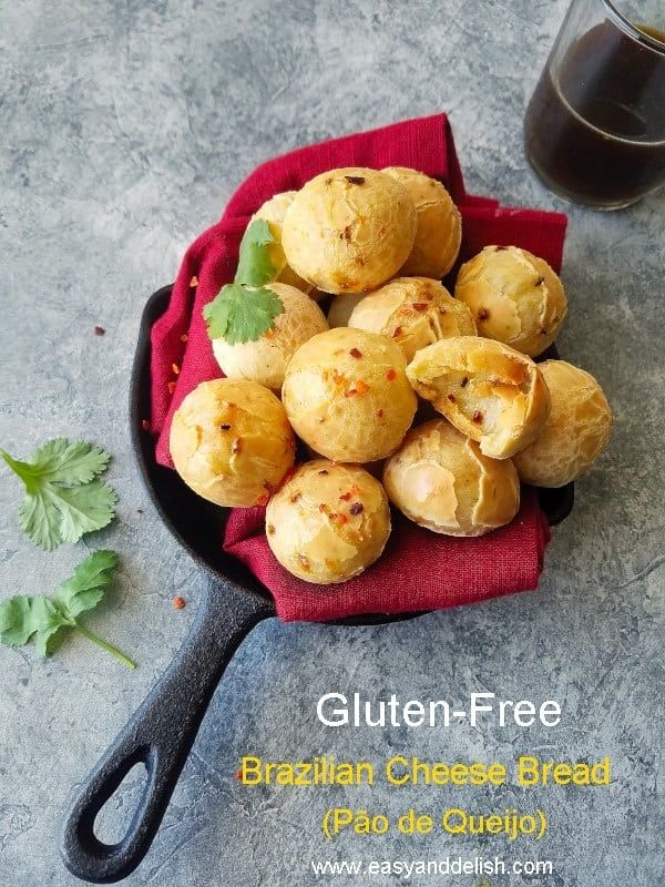 Gluten Free Brazilian Cheese Bread Recipe With Images Cheese
