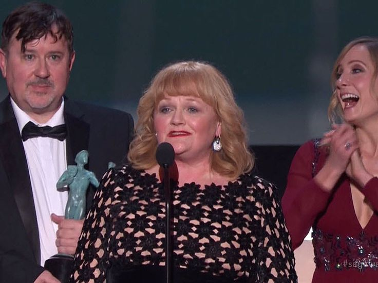 Downton Abbey Wins the Screen Actors Guild Award for Outstanding Performance by an Ensemble in a...