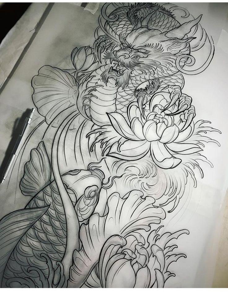Chronic Ink Asian Tattoo Chinese Japanese phoenix