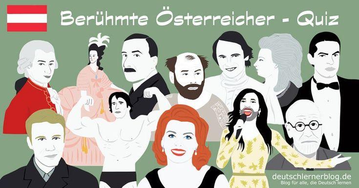 25 große, bekannte, prominente, berühmte österreichische Quiz