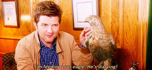 """He also shows our standard grace in awkward social situations. 