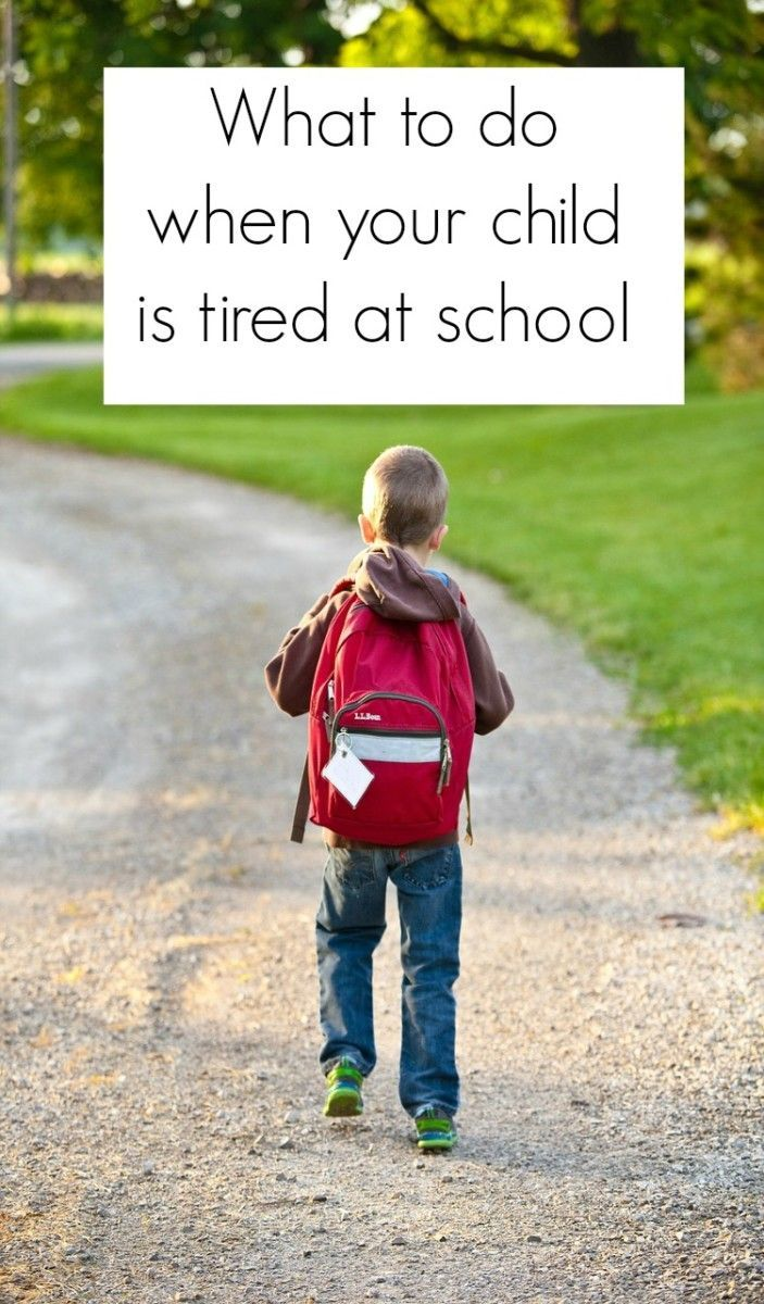 What t do when your child is tired at school. Positive parenting strategies to help a child who is struggling with school and to help keep your child awake and maximise their learning