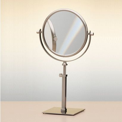 double face pedestal magnifying mirror magnifying mirror mirrors