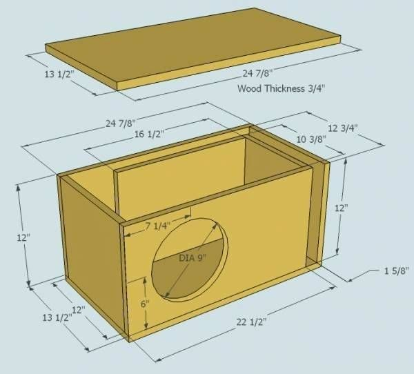 Subwoofer Box Design For 12 Inch Upload 12 Ported Sub Box Design Subwoofer Box Design Diy Subwoofer Box Subwoofer Box