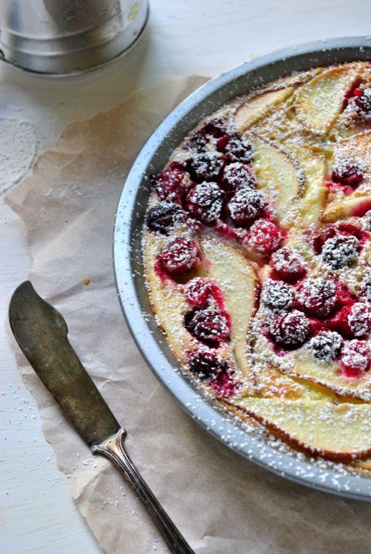 Gluten-free Cranberry & Pear Clafoutis | Gluten-Free Desserts ...